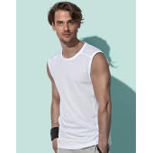 Active 140 Sleeveless Men - White