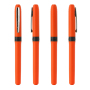 Grip Roller Black IN_Barrel/CA orange_CL chrome_Grip black