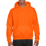 Gildan Sweater Hooded DryBlend safety orange XXL