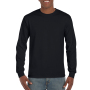 Gildan T-shirt Ultra Cotton LS Black XXL