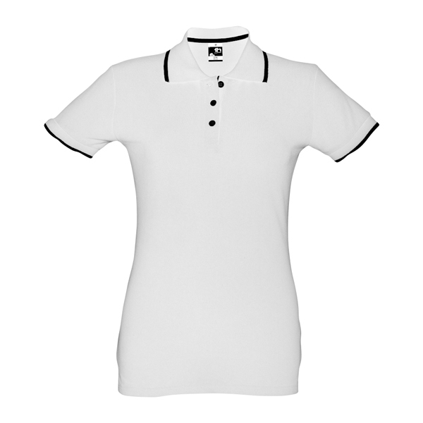 THC ROME WOMEN WH. Women's slim fit polo shirt