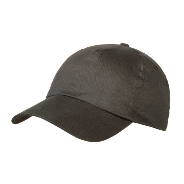 Brushed 5 Panel Cap