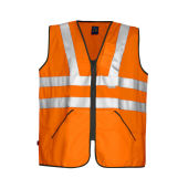 PROJOB 6702 VEST HV ORANGE CL.3 ONE SIZE
