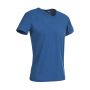 Ben V-neck - King Blue