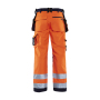 Werkbroek Softshell High Vis