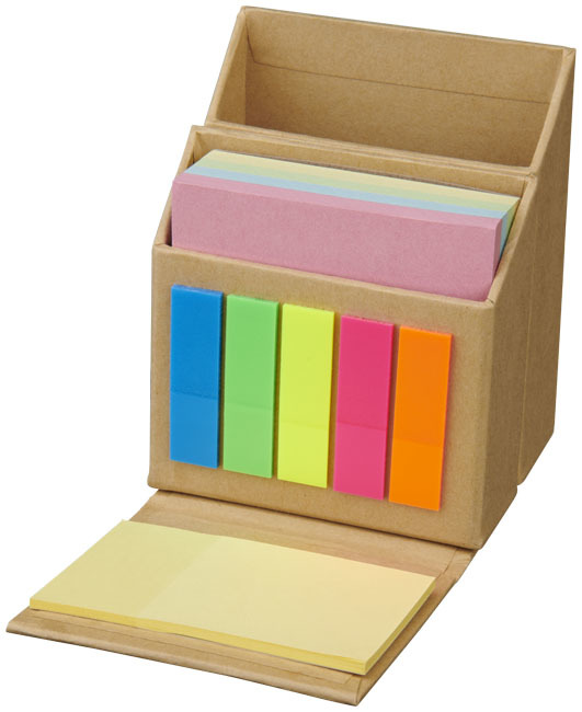 Artemis sticky notes en bureau organiser - Naturel