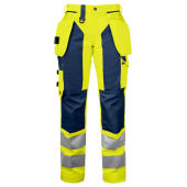 PROJOB 6519 PANTS HV LADY YELLOW/NAVY 50