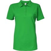 Damespolo softstyle dubbele piqué irish green xxl