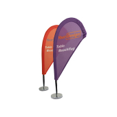 Bords beachflagga 25x46 cm