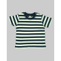 Baby Stripy T 6-12 Monate Navy/Washed White