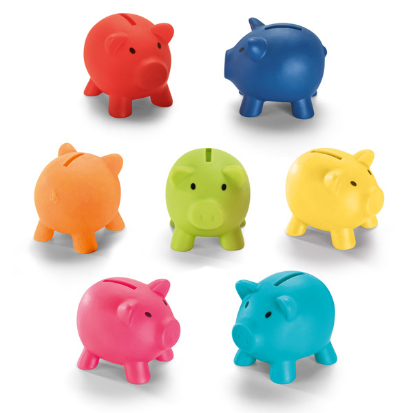 PIGGY. Piggy bank in PVC