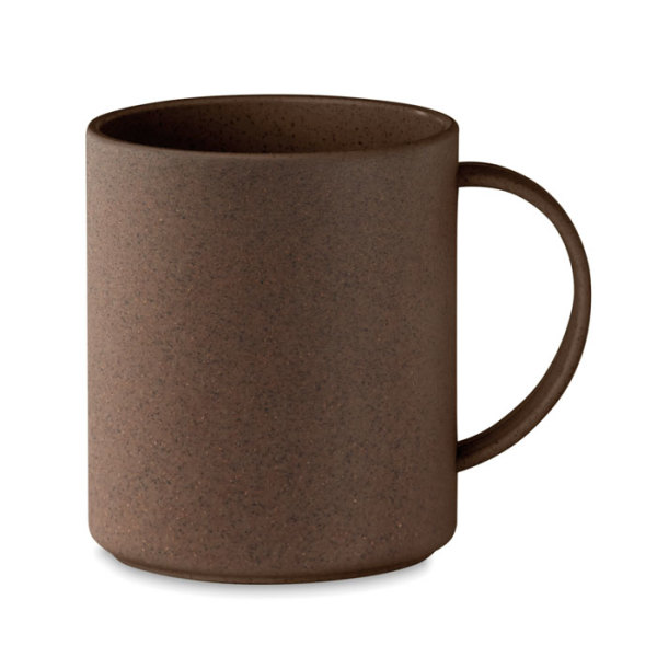 BRAZIL MUG - Mug in coffee husk/ PP 300ml