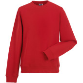 Authentic crew neck sweatshirt classic red xs