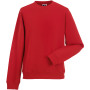 Authentic crew neck sweatshirt classic red xxl