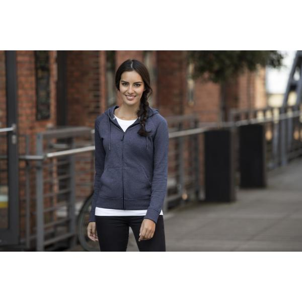Ladies HD Zipped Hood Sweat