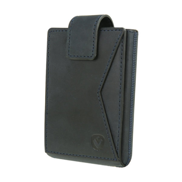 Valenta Card Case Pocket Premium Blue