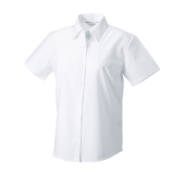 Dames Easy Care Oxford Shirt met Korte mouwen