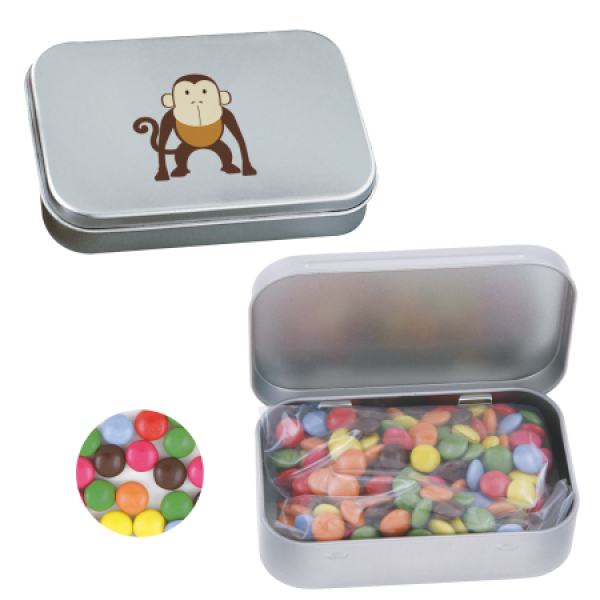 Blikjes met smarties bedrukken met logo 501103 0 chococarletties for Bureau 70x40