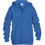 Heavy blend™classic fit youth full zip hooded sweatshirt royal blue '7/8 (m)