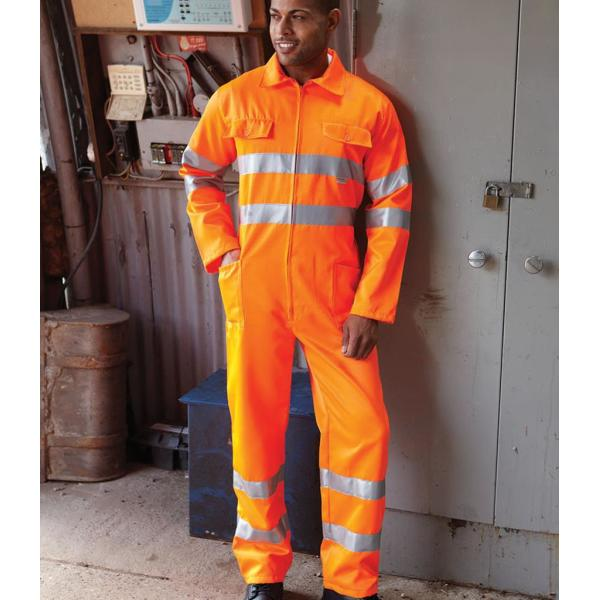 Hi-Vis Poly/Cotton Coverall