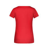 Ladies'-T Pocket - rood