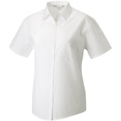 Ladies' ss polycotton poplin shirt