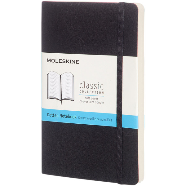 Classic PK softcover notitieboek - stippen