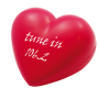 Anti-stress grote liefde hart Rood