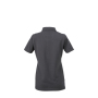 Ladies' Plain Polo grafiet/grafiet-wit