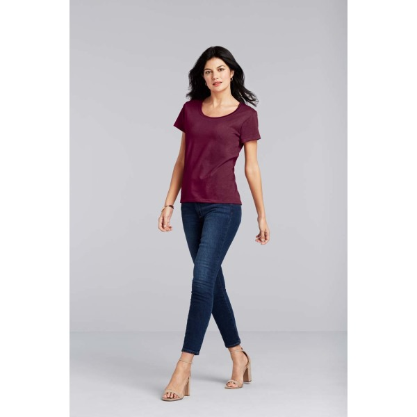 Gildan T-shirt SoftStyle Deep Scoop SS for her