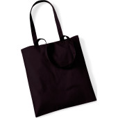 Bag for life - long handles chocolate one size