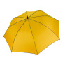 Automatische golfparaplu yellow / dark grey one size
