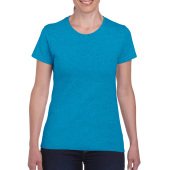 Gildan T-shirt Heavy Cotton SS for her Heather Sapphire S