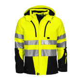 6420 Padded Jacket HV Yellow/Black 3XL