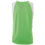 Men's Running Tank - lime/wit