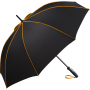 AC midsize umbrella FARE®-Seam - black-orange