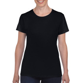Gildan T-shirt Heavy Cotton SS for her Black S