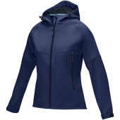 Coltan dames GRS-gerecycled softshell jack - Navy - XXL