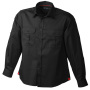 Men's Travel Shirt Roll-up Sleeves zwart