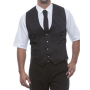 "Mens Vest ""Kai"" 64 Black"