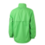 Men's Windbreaker - lime/carbon