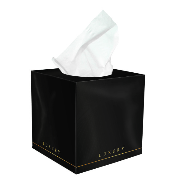 Tissue box folie druk