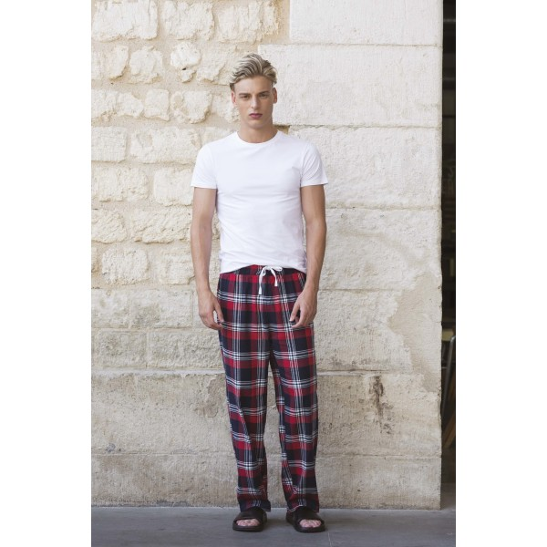 Men's tartan lounge trousers