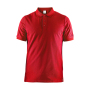 Craft Casual polo pique men bright red xl