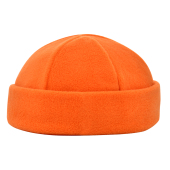 6 Panel Kinder Wintermuts Oranje acc. Groen