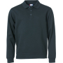 Clique Basic Polo Sweater dark navy xs