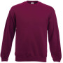 Classic set-in sweat (62-202-0) burgundy 'm