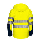 6420 Padded Jacket HV Blue/Yellow 3XL
