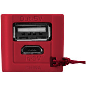 Jive powerbank 2000 mAh - Rood/Wit