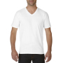 Gildan T-shirt Premium Cotton V-Neck SS for him White XXL